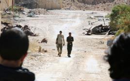 המורדים בחאלב, סוריה