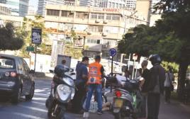 תאונת אופניים ברמת גן