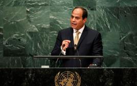 """א-סיסי נואם בעצרת האו""""ם"""