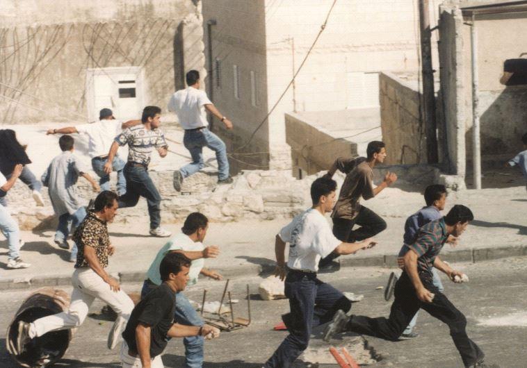 מהומות מנהרת הכותל. צילום: פלאש 90
