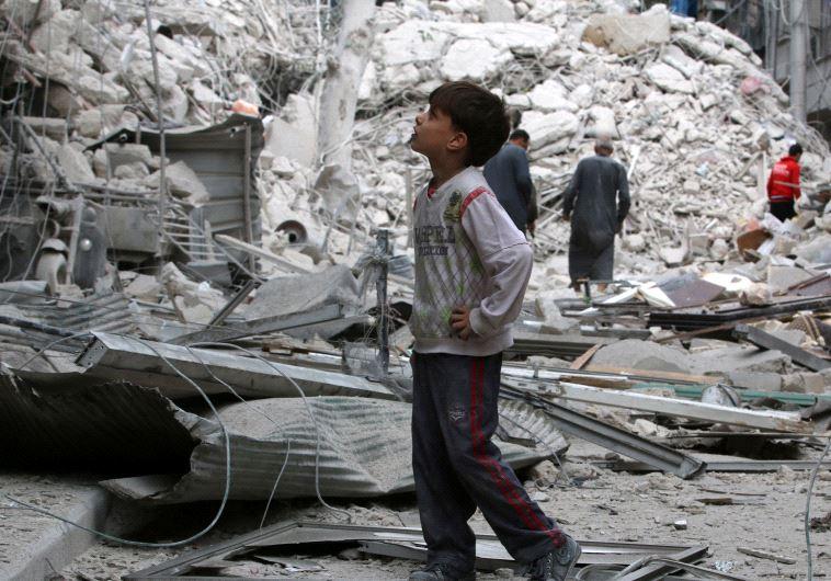 חאלב בסוריה. צילום: רויטרס