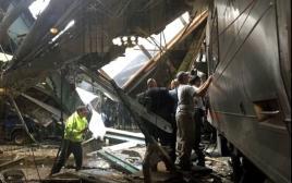 תאונת רכבת בניו ג'רזי