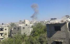 דיווחים: חיל האוויר תוקף בעזה
