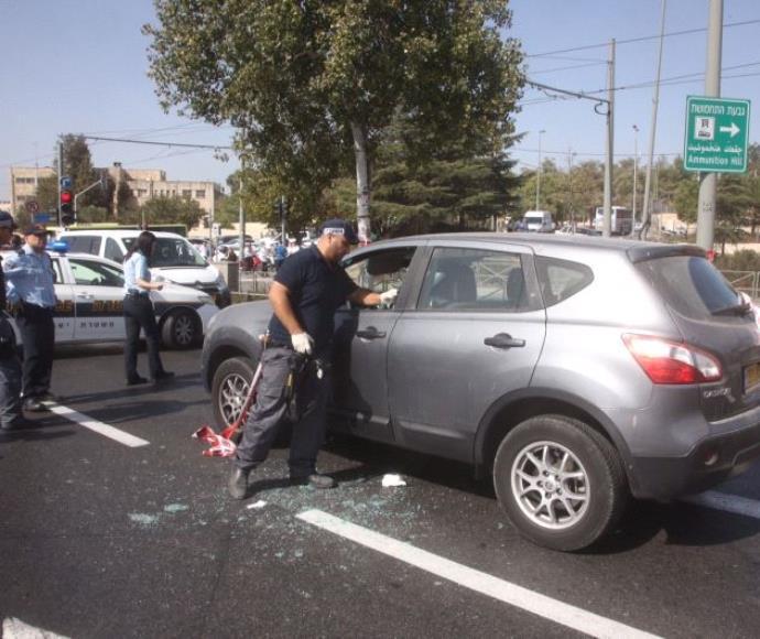 זירת פיגוע הירי בירושלים