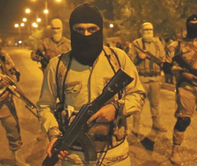 לוחמי דאעש במוסול