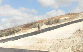 כביש לא חוקי שנסלל בין ירושלים למזרח גוש עציון