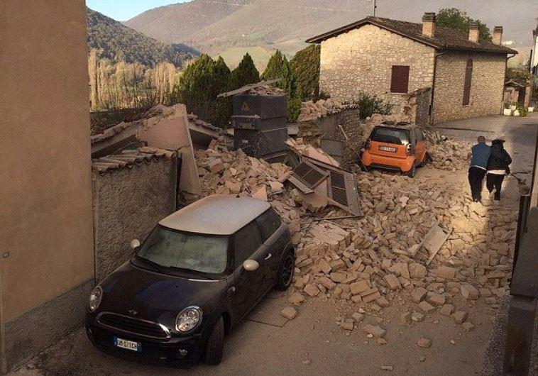 רעידת אדמה באיטליה