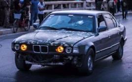 ה-BMW של הלוחמים הכורדים