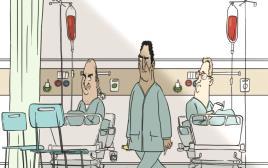 צנתור בבית חולים