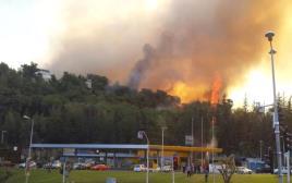 שכונת רוממה עולה באש