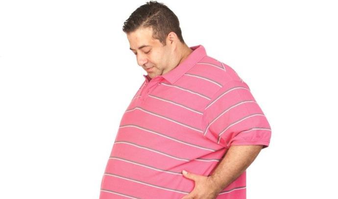 אדם שמן
