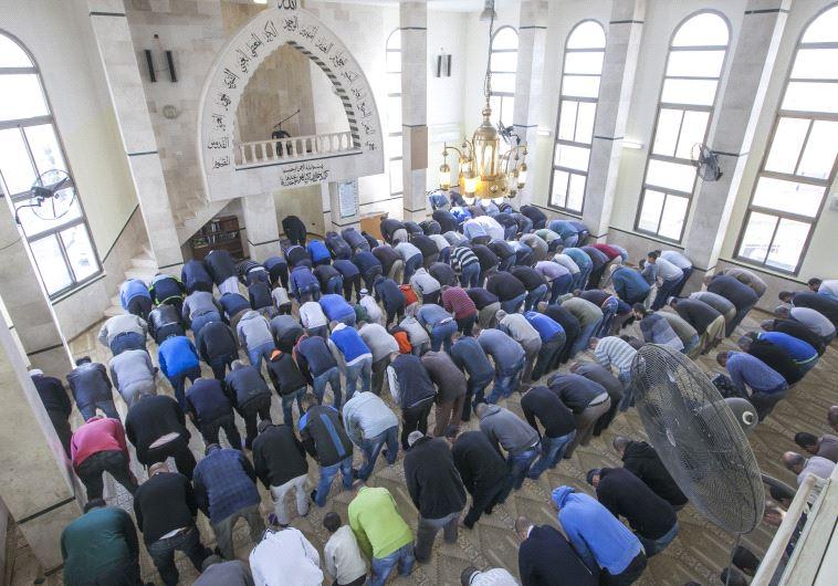 מוסלמים מתפללים