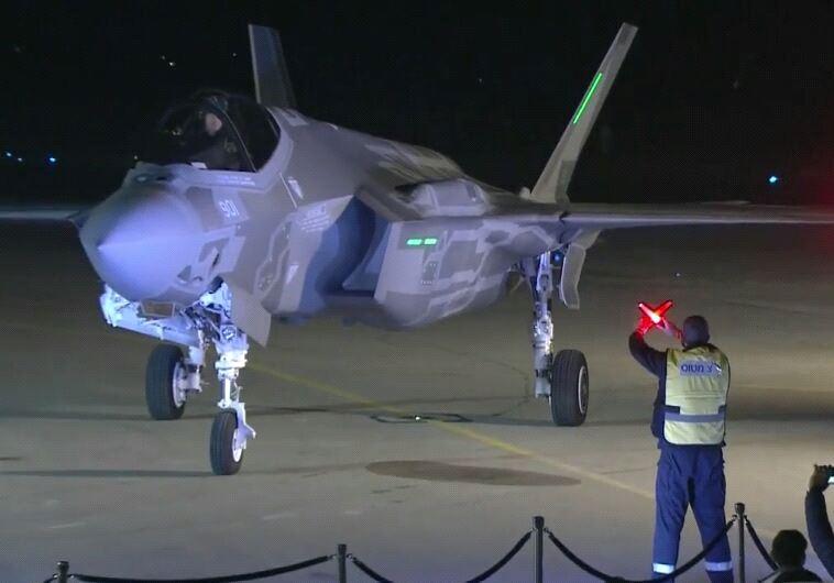 """יהפוך את חיל האוויר להרבה יותר אפקטיבי. מטוס ה""""אדיר"""" בישראל. צילום: אבשלום ששוני"""