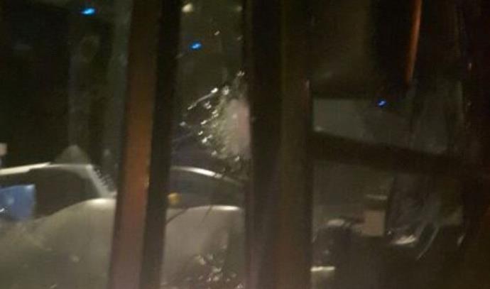 יריות לעבר אוטובוס בצומת הפרסה