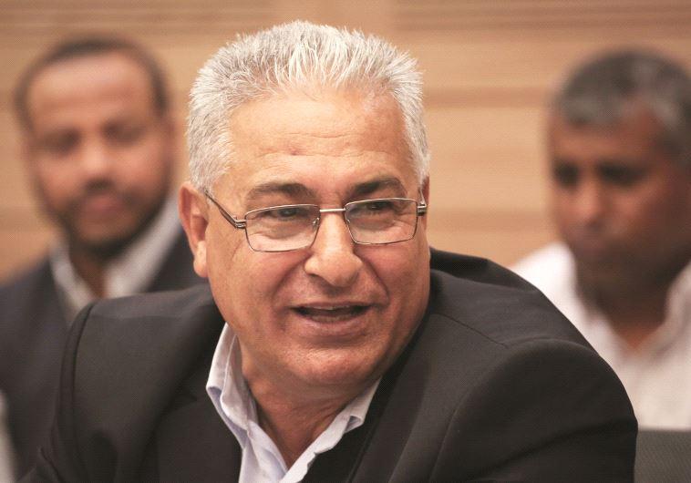 מאזן גנאים, ראש עיריית סכנין. צילום: הדס פרוש, פלאש 90