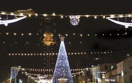 חג המולד בחיפה