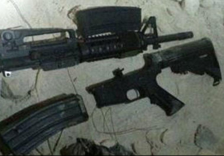 """רובה שנתפס על ידי שב""""כ. צילום: דוברות שב""""כ"""