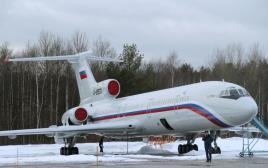 מטוס רוסי מסוג Tu-154