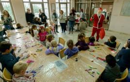 """חגיגות חג המולד בביה""""ס הדו לשוני בירושלים"""