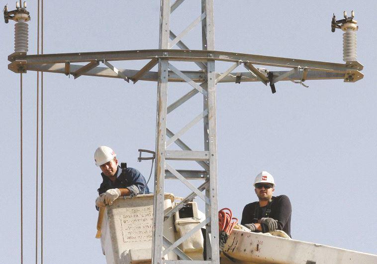"""חברת החשמל. """"ניצור תשתית מתקדמת"""", מבטיח היו""""ר. צילום: פלאש 90"""