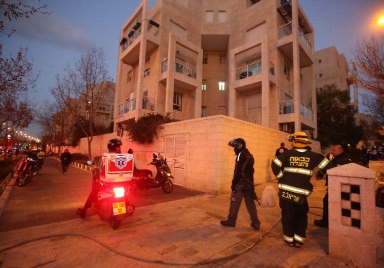 הבניין בו אירעה השריפה. צילום: מרק ישראל סלם