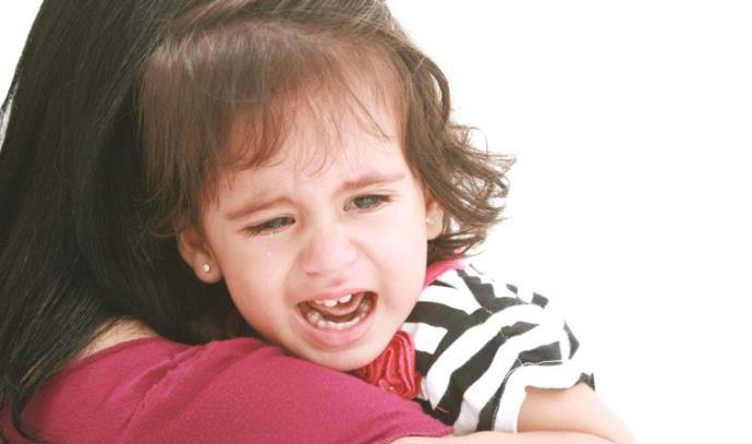 ילדה כועסת. אילוסטרציה