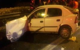 תאונה קטלנית בכביש 60