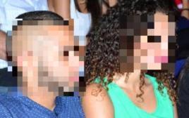 החשוד ברצח בחיפה וחברתו