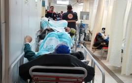 """בית החולים רמב""""ם בתפוסה של 200%"""