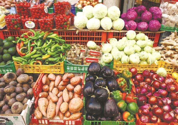פירות וירקות. מרכיב בלתי נפרד מתזונת הקיץ. צילום: אביר סולטאן, פלאש 90