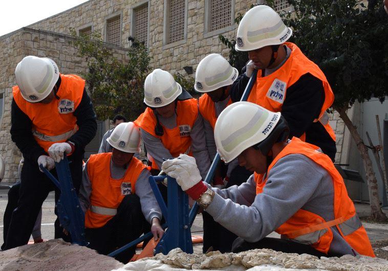 תרגיל פיקוד העורף בירושלים