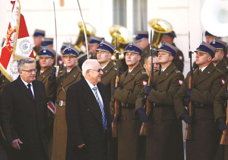 הנשיא ריבלין מבקר בפולין