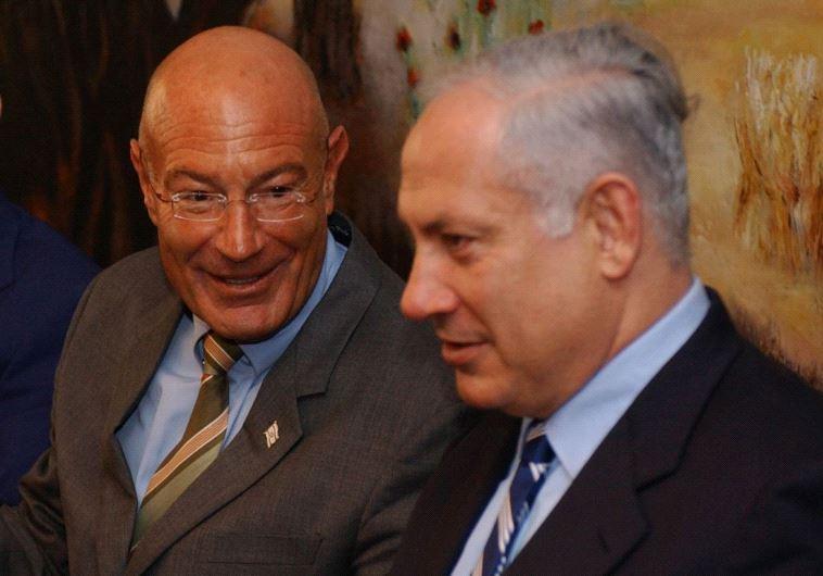 """נתניהו עם מילצ'ן. """"חובת רה""""מ היא לעזור למי שנפגע משירות שעשה למען ישראל"""". צילום: פלאש 90"""