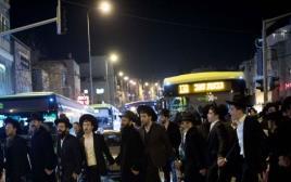 הפגנות חרדים סוערות בירושלים
