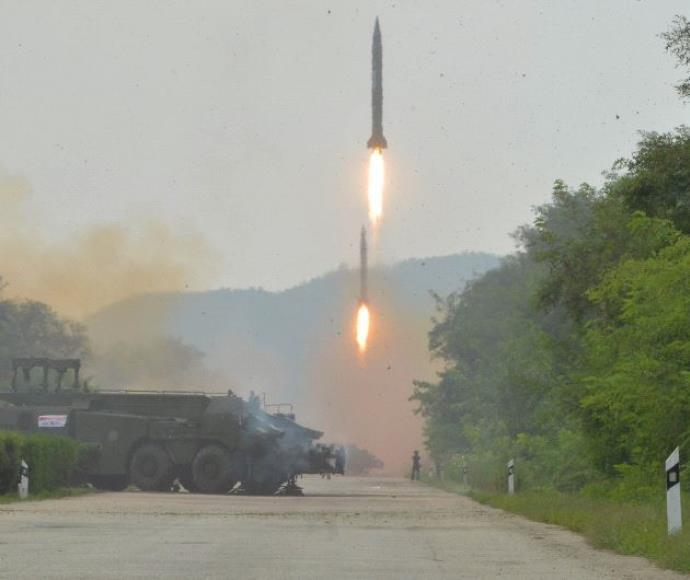 טיל בליסטי ששיגרה צפון קוריאה, ארכיון