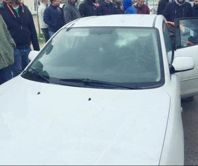 מורה הותקף ברכבו בשגב שלום