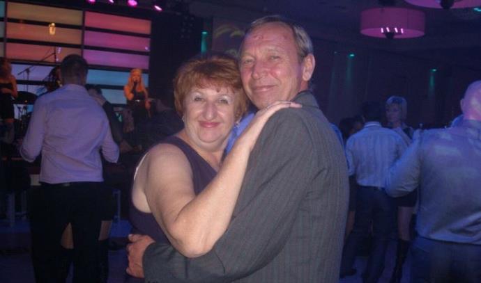 """יבגניה גבריק ז""""ל ובעלה אלכסנדר"""