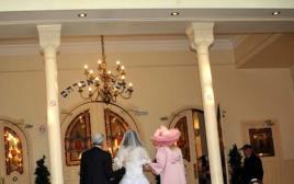 זוג מתחתן, אילוסטרציה