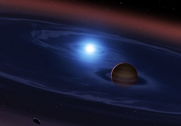 AFP: אילוסטרציה של הכוכב שנמצא. צילום