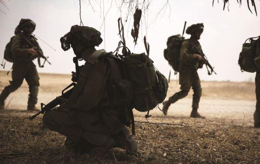 חיילי הנח''ל בעזה, צוק איתן  (צילום: הדס פרוש, פלאש 90)