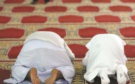 מתפללים מוסלמים, אילוסטרציה