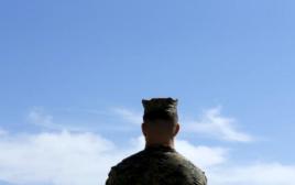 חיל מהמארינס האמריקאי בקליפורניה