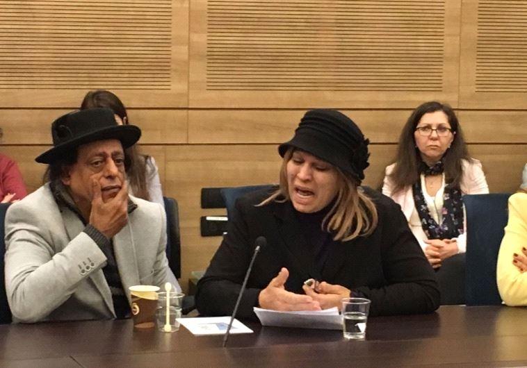 שימי תבורי ויהודית באומן בדיון בכנסת