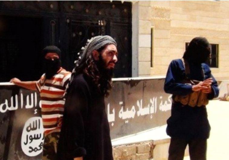 אנשי המדינה האסלאמית. צילום מסך