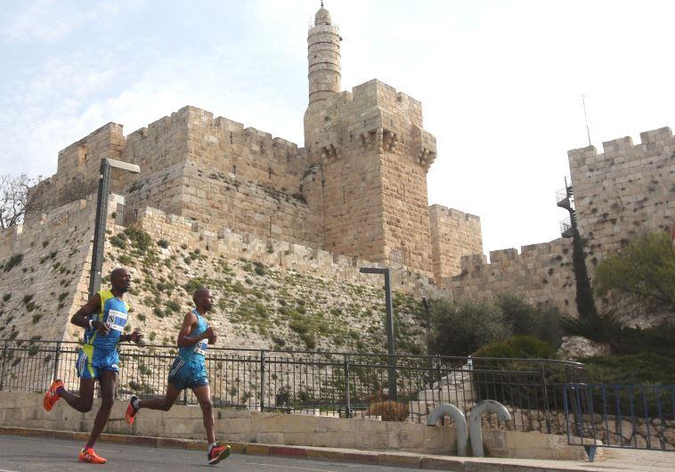 מרתון ירושלים. צילום: מרק ישראל סלם