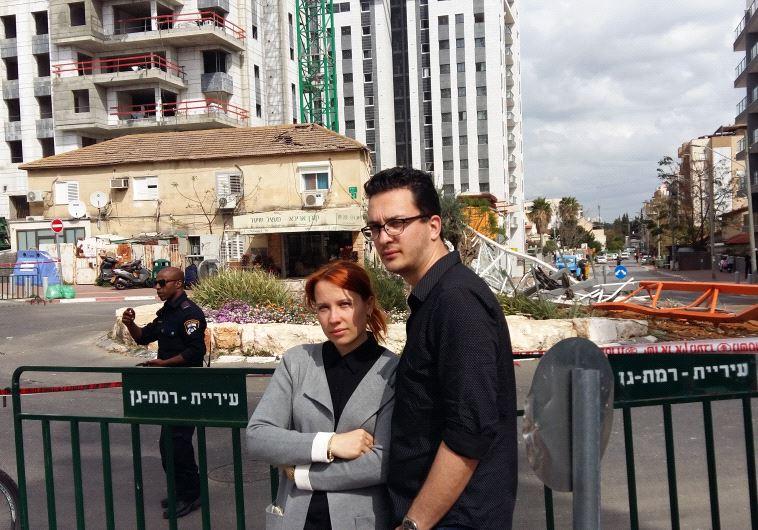 """""""היה נס גדול, מזל שלא היינו בבית"""", דניאל וליזה, צילום: משה כהן"""