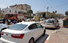 זירת הרצח המזעזע בטבריה
