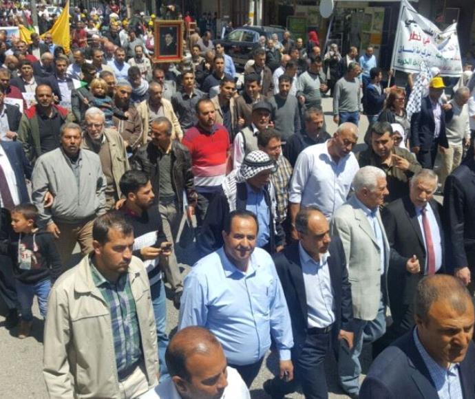 הזדהות עם שביתת רעב של אסירים