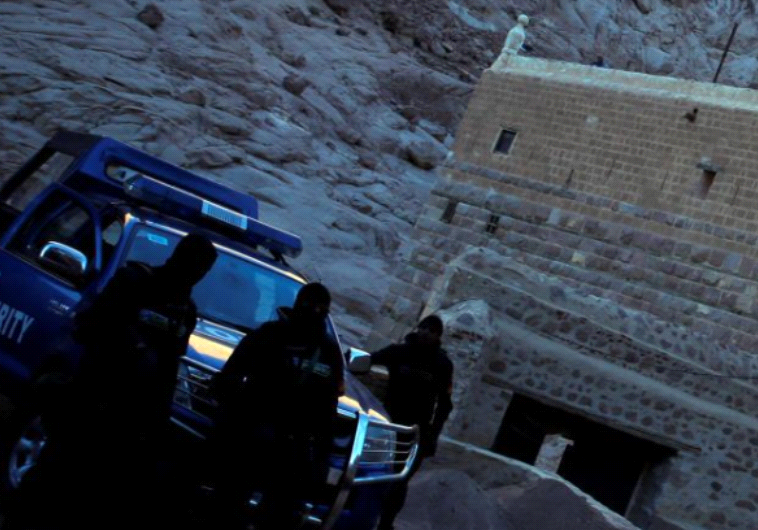 שוטרים מצרים בסיני, סמוך למנזר סנטה קטרינה