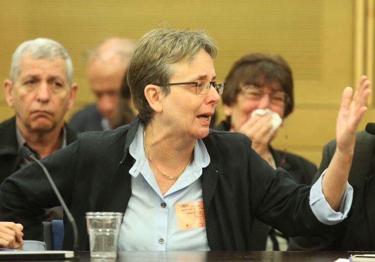 """ד""""ר לאה גולדין. חתכה בבשרו החי של נתניהו. צילום: מרק ישראל סלם"""